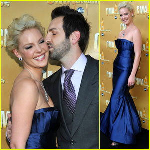 Katherine Heigl: CMA Awards with Josh Kelley!