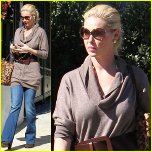 Katherine Heigl: Lunch at Little Dom's