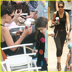Katie Holmes: 'Allure of the Seas' with Suri!
