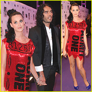 Katy Perry: MTV EMAs 2010 with Russell Brand!