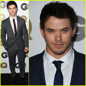 Taylor Lautner & Kellan Lutz: GQ Men of the Year!