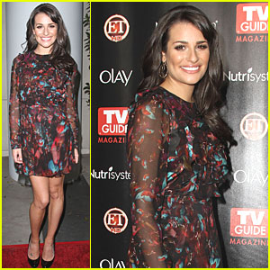 Lea Michele: TV Guide Party!