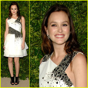 Leighton Meester: CFDA/Vogue Fashion Fund Awards!