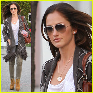 Minka Kelly is Strawberry Sweet