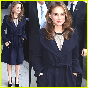 Natalie Portman: Late Show with David Letterman!
