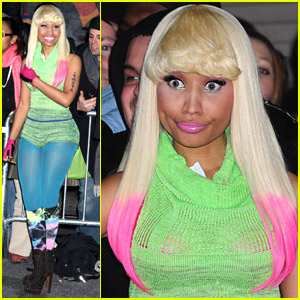 Nicki Minaj Does David Letterman