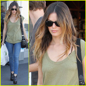 Rachel Bilson Is An Oaks Gourmet Gal