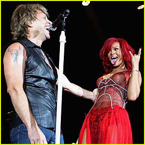 Rihanna & Bon Jovi: Livin' On A Prayer Duet!