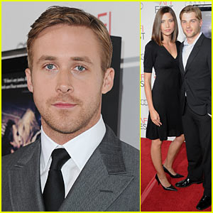 Ryan Gosling: AFI Fest with Mike Vogel!