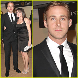 Ryan Gosling: Governors Awards with Mom!