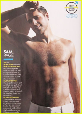 sam page movies and tv shows