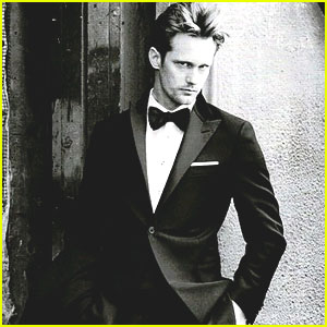 Alexander Skarsgard: New Hickey Freeman Ad!