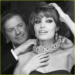 Angelina Jolie: Collaborating on Jewelry Collection!