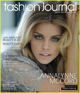 AnnaLynne McCord Covers 'The Fashion Journal'