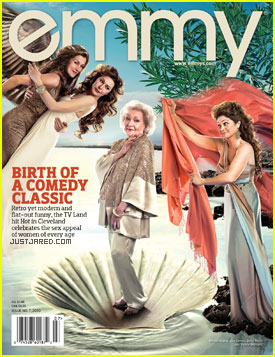 Betty White: Botticelli's Venus for Emmy Magazine