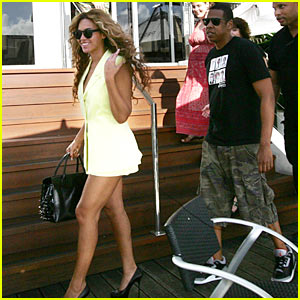 Beyonce & Jay-Z: Marina Mirage Mates!