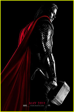 Chris Hemsworth: 'Thor' Poster Revealed!