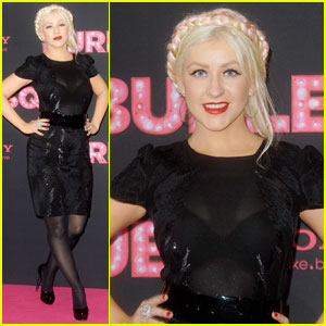 Christina Aguilera is Berlin 'Burlesque'