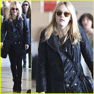 Dakota Fanning: School Takes Priority Right Now!