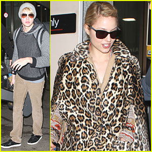 Dianna Agron &#038; Chord Overstreet: From London to Los Angeles