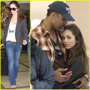 Eliza Dushku & Rick Fox: Let's Hug It Out