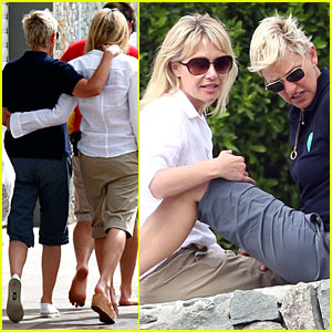 Ellen DeGeneres &#038; Portia de Rossi: So Happy Together!