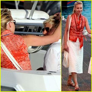 Ellen degeneres portia de rossi st barts boat ride for Ellen degeneres and portia de rossi story