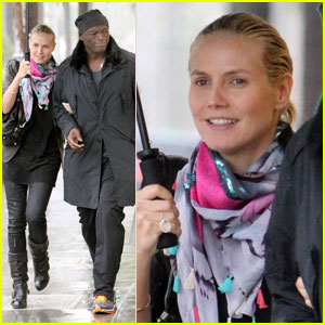 Heidi Klum & Seal: Prada & Chanel Shoppers