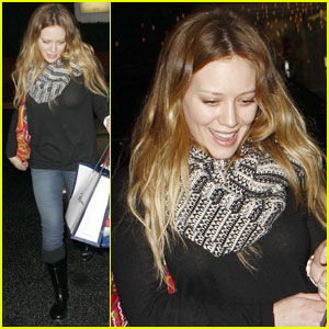 Hilary Duff: Fred Segal Retail Run