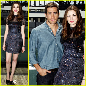 Jake Gyllenhaal & Anne Hathaway: Press Tour Twosome