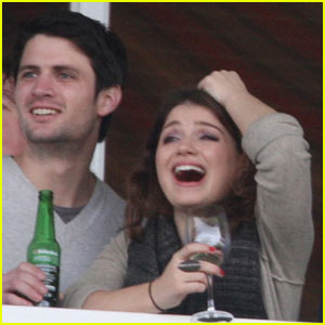 James Lafferty Dating Eve Hewson -- Bono s Daughter James Lafferty And Eve Hewson