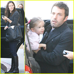 Jennifer Garner & Ben Affleck: Party Time with The Girls!