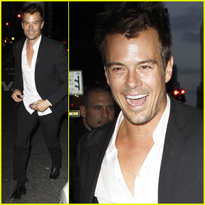 Josh Duhamel: Close Call with a Car!