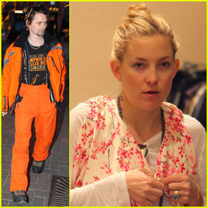 Kate Hudson: Christmas Shopping with Matt Bellamy!