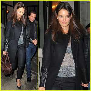 Katie Holmes: ABC Kitchen Birthday Dinner!