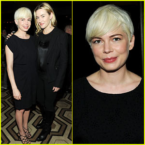 Michelle Williams: 'Blue Valentine' Screening with Kate Winslet!