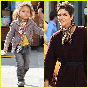 Nahla Aubry: Shopping with Halle Berry!