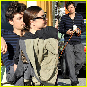 Orlando Bloom & Miranda Kerr: Lunch Lovers!