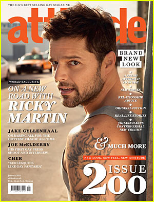 Ricky Martin Covers 'Attitude' Magazine, Talks Mr. Right