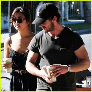 Shia LaBeouf & New Girlfriend Hold Hands