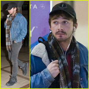 Shia LaBeouf Leaves Los Angeles