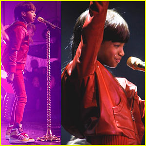 Willow Smith Whips Her Hair at Highline Ballroom