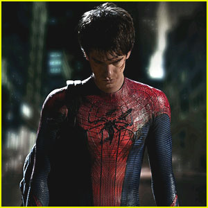 Andrew Garfield is Spider-Man -- FIRST LOOK