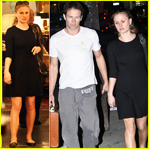 Anna Paquin & Stephen Moyer: Home Shopping!