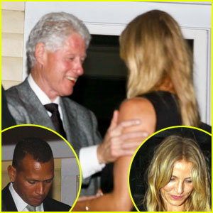 Cameron Diaz & Alex Rodriguez: Dinner with Bill