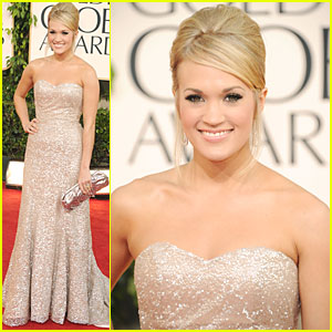 Carrie Underwood - Golden Globes 2011 Red Carpet