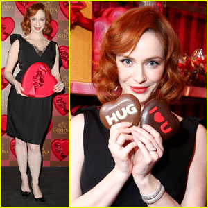 Christina Hendricks: Fifth Avenue Godiva Goddess
