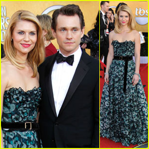 Claire Danes: SAG Awards with Hugh Dancy!