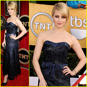 Dianna Agron - SAG Awards 2011 Red Carpet