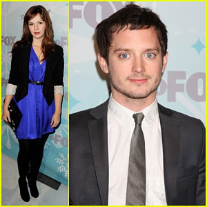 Elijah Wood & Amber Tamblyn: Fox TCA All-Star Party!